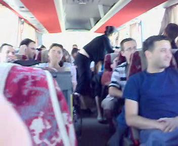 Music on the Bus in Jordan