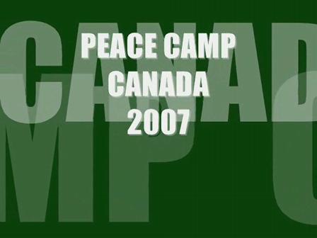 Peace Camp Canada 2007