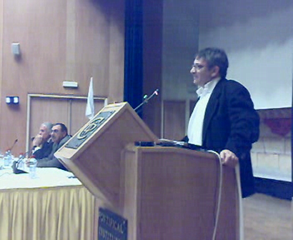 Ron Pundak sharing vision for two states, Feb 28, 2008