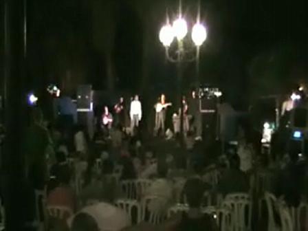 Tiberias Holiday Stalos Band Performing