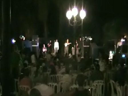 Tiberias Holiday Stalos Band Performing