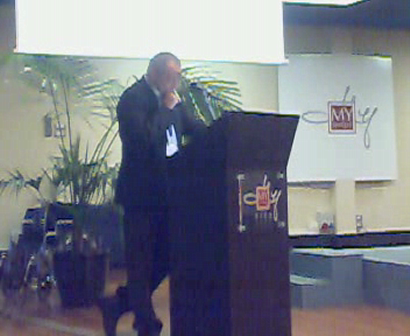 Ron Pundak III - Peace NGO Forum - Pisa, Italy - September, 2008