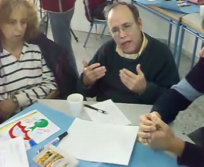 Our third Peace Cafe - January 2, 2009