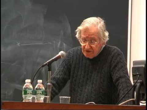 Noam Chomsky: The Culture of Imperialism