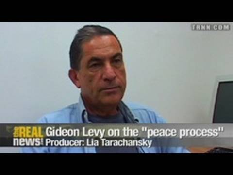 "Gideon Levy - the ""peace process"" is a joke (Part 2)"