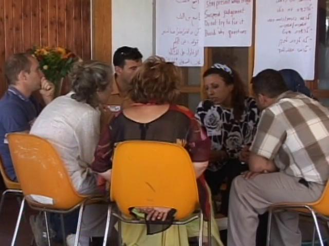 Compassionate Listening training in Beit Jala