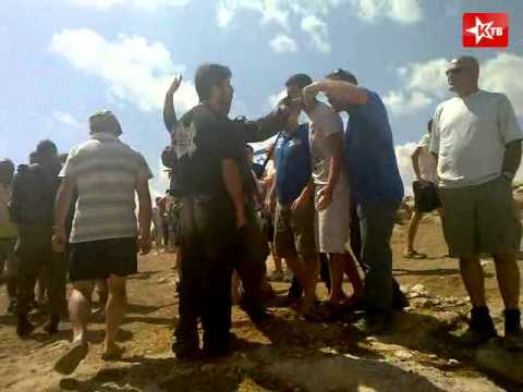 Linch by settlers of Almon on Palestinian Anata
