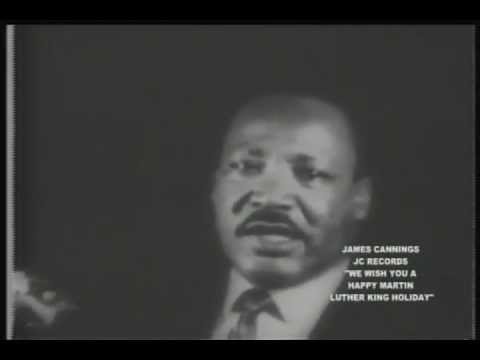 We Wish You A Happy Martin Luther King Holiday by James Cannings