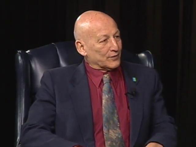 CROSSING THE BORDER - Israeli Dan Bar-On - Palestinian Sami Adwan (30 min)