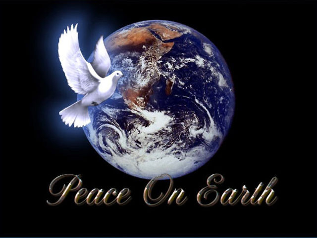 2012-12-12 One Day On Earth What I Have is a Proposal for Global Truce and Global Cease Fire.