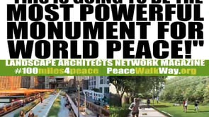 """This is Going to be the Most Powerful Monument for World Peace!"""