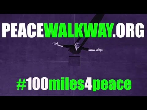 100miles4peace Peacewalkway
