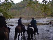 Lynn, Phil and Theresa at Big South Fork River