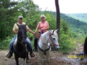 James and Moira at East Fork