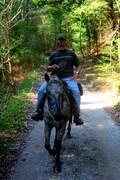 vince joe on trail bsf