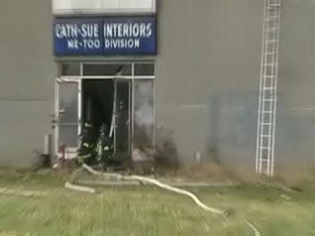 Carpet Warehouse Fire