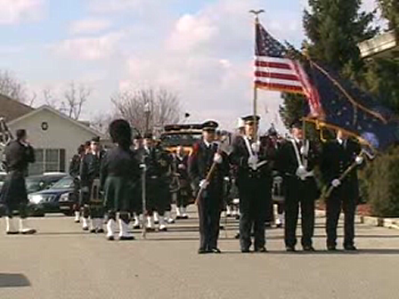 Captain Dave Sherfick Funeral Procession