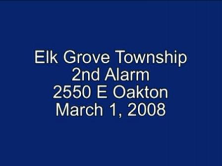 Elk Grove Twnsp 2nd Alarm