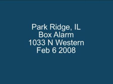 Park Ridge, IL House Fire