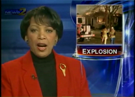 FF Interviewed Caught in Backdraft / Explosion
