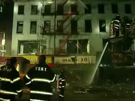 FDNY 4 story building collapse