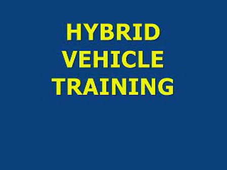Hybrid Vehicle Awareness