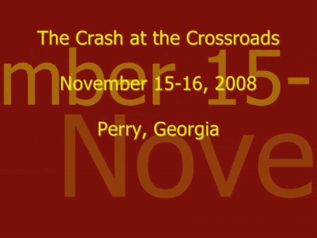 The Crash at the Crossroads