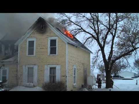 Columbia, SD Fire Destroys FF Home