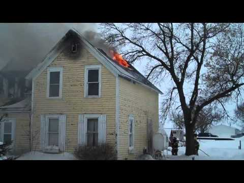 Columbia, SD Fire Destroys FF Home