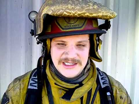 Firefighter Helmet MELTS in a FIRE!!! Grape Creek VFD