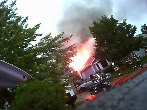 Lightning Strike House Fire