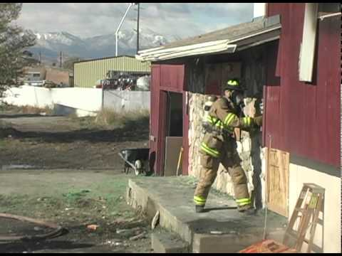 Lehi Fire Dept - Positive Pressure Attack