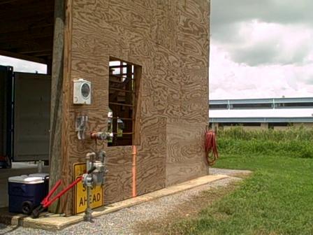Houma Fire Training Field Drills 006