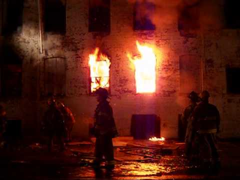 Vacant Mill Burns In Pawtucket