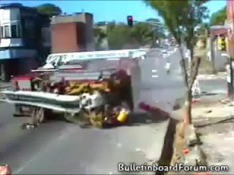 Two Fire Trucks Collide in St. Louis