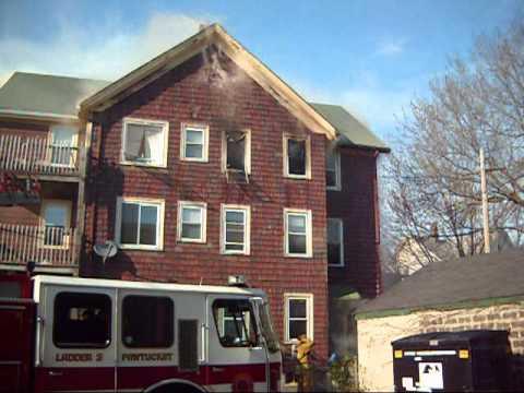 Fatal Pawtucket Tenement Fire