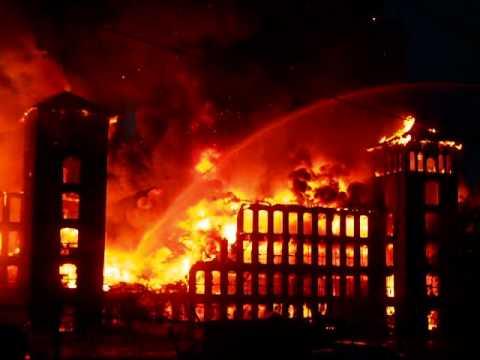 Woonsocket 9 Alarm Mill Fire