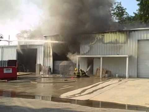 Building Fire in Houma, La.