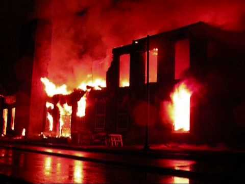 Tiverton Mill Fire