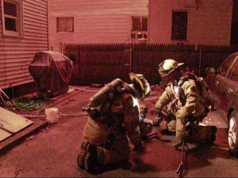 3 Alarm Tenement Fire In Pawtucket