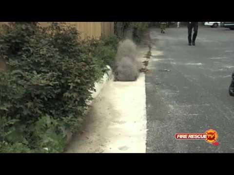 Virginia Beach: F-18 Crash (HD Video)