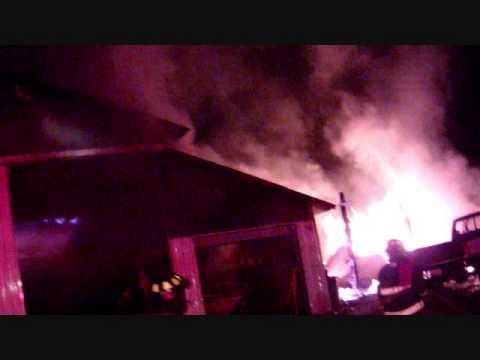 1300046 FULLY INVOLVED MULTI BLDG FIRE  STILL SHOTS
