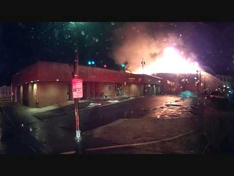 02162013 4 ALARM FIRE PT 1 First attack