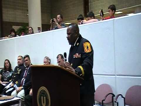 Union Co. Fire Academy Graduation Keynote Address 2012