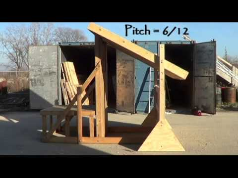Firefighter Training Prop - The Pitched Roof Attachment