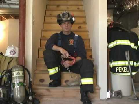 """Firefighter Rescue: Using a Personal Escape System - The """"BYRNE Technique"""""""
