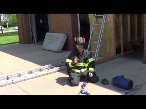 Firefighter Rescue: Using a F.E.P.S. (FF Extraction Pulley System)