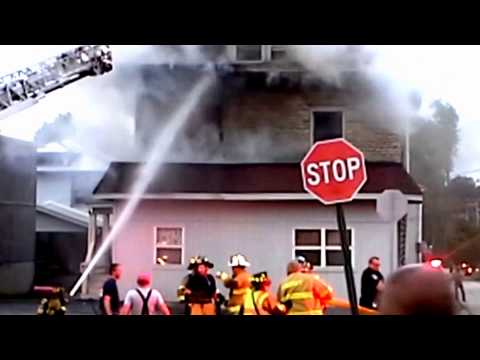 Somerset (PA) Structure Fire