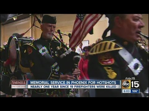 19 Firefighters Killed in Yarnell Hill Fire Remembered