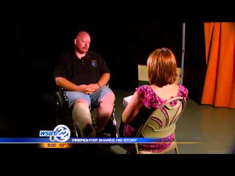 New Carlisle firefighter shares his story